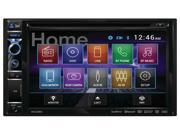 "DUAL DV625BH 6.2"" Double-DIN In-Dash DVD Receiver with Built-In Bluetooth(R) & HDMI(R) Input"