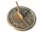Brass Roman Sundial