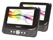 Dual-Screen Portable DVD Player