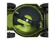 16 in. Electric Lawn Mower and Mulcher in Green and Black