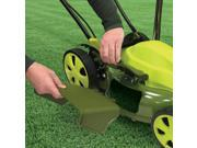 20 in. Electric Lawn Mower in Green and Black