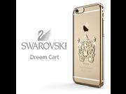CASECUBE® iPhone 6/6s Plus Case [Brilliant Color] SWAROVSKI PC Series for Apple iPhone 6/6s Plus - Pumpkin Carriage