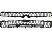 Rigid Industries 40576 LED Grille Kit Fits Silverado 2500 HD Silverado 3500 HD