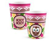 Look Whoo's 1 Pink 9 oz. Paper Cups 9SIA2K32EX2218