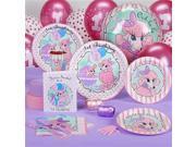 Pink Poodles in Paris 1st Birthday Standard Party Pack - 8