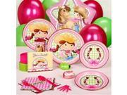 Pink Cowgirl Standard Party Pack for 16