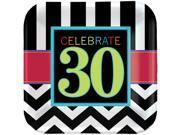 30th Celebration Dinner Plates (8)
