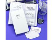 White Well Wisher Guest Book