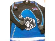 Kingman Spyder Academy Paintball Jersey - Blue - Medium