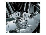 Kuryakyn 8124 Chrome TAPPET BLOCK COVERS (pr) for Harley-Davidson ¦£??91-¦£??03 Sportsters by KURYAKYN