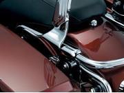Kuryakyn 1636 Side Plates For The Transformer Backrest For Harley-Davidson KU 1636