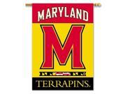 Maryland Terrapins 2-Sided 28 X 40 Banner W/ Pole Sleeve - Collegiate / College / NCAA Licensed #96146