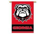 Georgia Bulldogs 2-Sided 28 X 40 Banner W/ Pole Sleeve - Collegiate / College / NCAA Licensed #96407