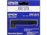 Epson - Accessories erc-22b 1pk Black Ribbon Cassette for 180/ 181/183/185