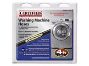 Certified Appliance 77503 Braided Stainless Steel Washing Machine Connector Kit (4ft)