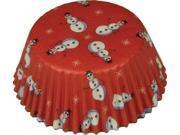 Fox Run Snowman Standard Bake Cups, 50 Cups 9SIV16A6714909