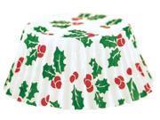 Fox Run Christmas Holly Petit Four Bake Cups, 100 Cups 9SIAD245DX8867