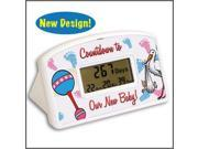 Countdown to New Baby Timer and Clock