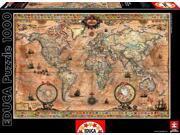 Antique World Map 1000-Piece Puzzle 9SIA05U6G49451