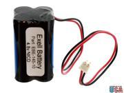 Emegency Lighting Battery Fits Lithonia D-AA650BX4  Squared Shape Pack USA SHIP