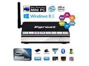 Egreat i6 TV Box Windows 8.1 Mini PC 2G/32G Wintel Player WiFi HD 1080p 4K HDMI