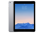 Apple iPad Air 2 MGTX2LL/A (128GB, Wi-Fi, Space Gray) NEWEST VERSION