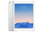 Apple iPad Air 2 MH2V2LL/A (16GB, Wi-Fi + Cellular, Silver) NEWEST VERSION