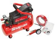 Snap-on 870931 3-Gallon Heavy Duty Oil Free Style Air Compressor Kit