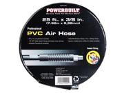 Powerbuilt 3/8 inch x 25 foot PVC Air Hose - 642134
