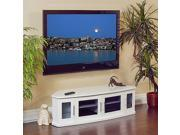 Plateau Newport 62 Video Cabinet - White