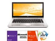 "HP EliteBook 8470p Intel i5 Dual Core 2800 MHz 320Gig Serial ATA 8192mb DVD-RW 14.0"" WideScreen LCD Windows 10 Professional 64 Bit Laptop Notebook"