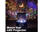 YUPENGDA   Star Master Starry Moon Beauty Night Cosmos Projector Bed Side Lamp Ramadom color