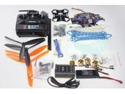 JMT Drone Upgraded Full Kit S500-PCB 1045 3-Blade 4Axis Multi QuadCopter UFO RTF/ARF