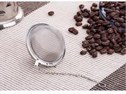 F15012 10 10Pcs Lot Diameter 5cm Round Mesh Stainless Steel Spoon Tea Infuser Strainer Lock Tea Spice Mesh Ball