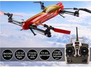 New arrival Toy Gift 100% original WLtoys V383 500 Electric 3D 2.4G 6CH RC Quadcopter Drone Heliicopter