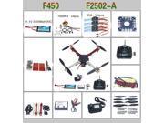 RC MultiCopter QuadCopter UFO RTF/ARF:KK V2.3 Circuit board+1000KV Motor+30A ESC+Lipo+F450 Flamewheel+6ch TX&RX