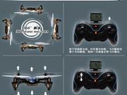 F180 2.4G 4CH Remote Control Four Rotor Airplane 4-Axis Quadcopter 4 Channel RC Helicopter