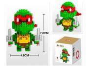 LOZ Anime Diamond Block Plastic Cute Turtle Building Blocks Action Figure Bricks Educational DIY Toy Gifts for Children 9149 9SIA2RP6NX7607