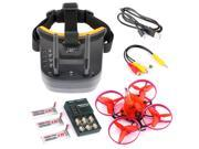 Snapper7 Brushless Micro 75mm 5.8G FPV Racer Drone 2.4G 6CH RC Quadcopter RTF 700TVL Camera VTX & Double Antenna Mini Goggles