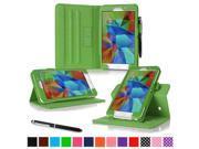 Galaxy Tab 4 7.0 Case Samsung Galaxy Tab 4 7.0 Cover rooCASE Dual View Slim Fit Lightweight Leather PU Folding Folio Galaxy Tab 5 7.0 Case Green