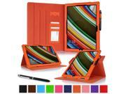 Surface Pro 3 Case Microsoft Surface Pro 3 Case rooCASE Dual View Leather PU Folio Slim Fit Stand Tablet Cover Windows 8.1 Tablet 12 Inch Orange