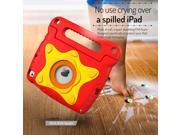 iPad Mini 4 Case, roocase Orb Starglow iPad Mini 4 Kids Case [Glow in the Dark Star Design] Convertible Handle Stand Kid Friendly Protective Cover Case for Apple iPad Mini 4 2015 Model, Red