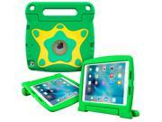 iPad Air 2 Case, roocase Orb Starglow iPad Air 2 Kids Case [Glow in the Dark Star Design] Convertible Handle Stand Kid Friendly Protective Cover Case for Apple iPad Air 2 2014 Model, Green