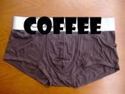 5PCS New Sexy Men's Men cool Underwear Boxers Briefs brief Mens Boxer pants Micro modal air Coffee size XXL