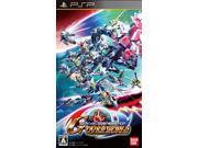 SD Gundam G Generations Over World BAMDAI Sony PSP
