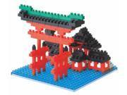 Nanoblock NBH_017 Torii of Itsukushima Shrine