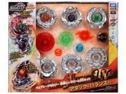 Beyblades #BBG-24 Japanese Zero G Beyblade Ultimate DX Set Thin Chrome Attack / Balance Type