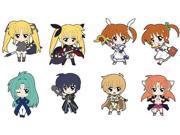 Magical Girl Lyrical Nanoha THE MOVIE 1st Nendoroid Plus Trading Rubber Strap SCENE 01 9SIABMM4T23367