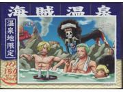 150 Piece Mini Puzzle Piece Pirate hot spring break No.ONS-02 [limited] hot springs mini puzzle 150pcs. ONE PIECE Jigsaw Roronoa Zoro and Sanji and Usopp and Br 9SIABMM4T39665