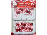 Hello Kitty Protective Cover for 3dsll for 3dsll (White)